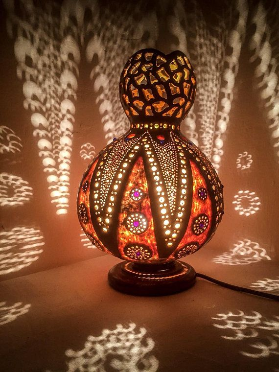 BEST Graduation Day, Wedding Gourd Lampe Türkisch Türkei Istanbul Light Art Deco Marokkaner Lamparas Turcas Muttertagsgeschenkidee Lampe Turque
