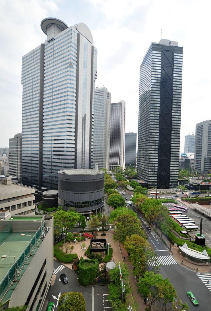 Shinjuku - View from Tokyo Hilton, Japan