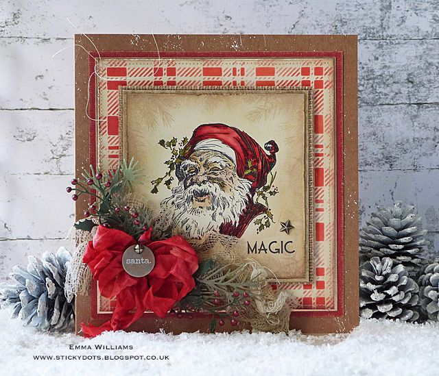 The Magic Of Christmas - created by Emma Williams for the Tim Holtz Inspiration Series