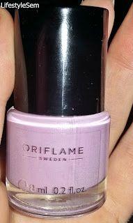 LifestyleSem.Blogspot.Ro: Manichiură: Oriflame Pure colour-Lavender Shimmer