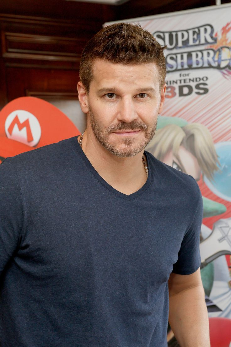 David Boreanaz: Forget about his TV show Bones — the focus is clearly on David's bone structure.