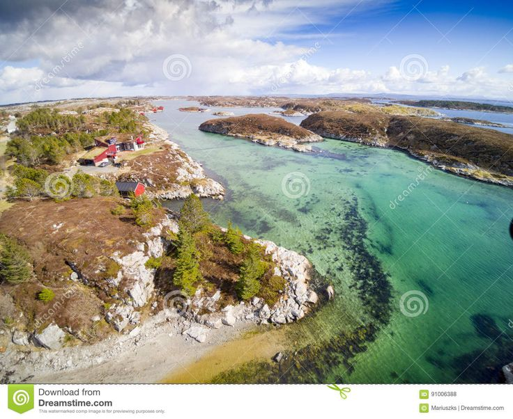 Norwegian Fjord And Coast, Aerial View - Download From Over 58 Million High Quality Stock Photos, Images, Vectors. Sign up for FREE today. Image: 91006388