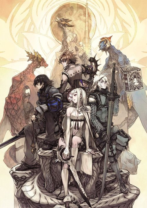 Drakengard, Drag-on Dragoon. 1,2,3. ★ || CHARACTER DESIGN REFERENCES…