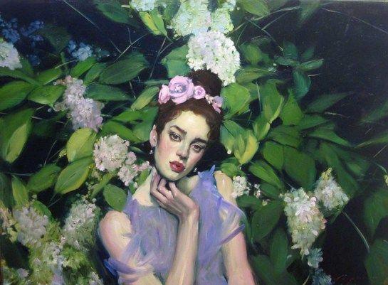 Hydrangea Garden, 2013 by Malcolm Liepke | Yellowtrace