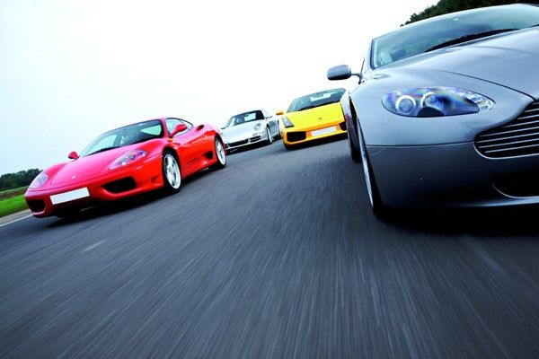 Triple Supercar Driving Blast from Buyagift