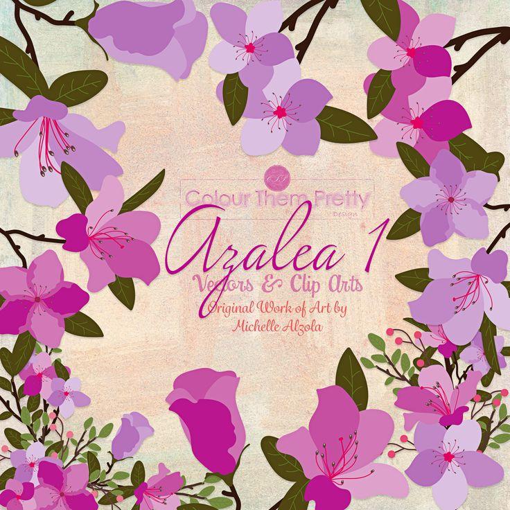 Azalea 1 {Vectors and Clip Arts - Standard License}