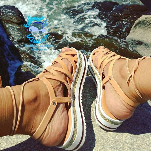 Leather sandals strand  platform 4cm ● 100% LEATHER ●  Σανδάλι πλεξούδα  με υπερυψωμένο πάτο 4cm. Ειναι πολύ αναπαυτικά με μαλακό πατο | EU size 35 - 42 for women |  #tailoredbyvivian #greekdesigners #greece #madeingreece #summer #greeksandals #leathersandals #ladies #girls #outfitoftheday #outfit #betheone #betailored #worldwideshipping #worldwide #boho #bohochic #bohemian #bohosandals #tattoo