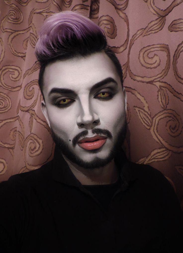 Diseño de personaje, maquillaje versión masculina de Ursula villana de La Sirenita (Pelicula de Disney 1989).  Braulio Bautista  https://www.facebook.com/bj.bautistabarba