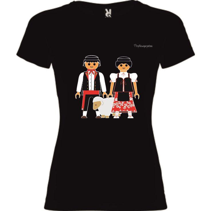 "Camisetas fiesta regional ""Chiviri"" Disponibles en www.pepitaspepetes.com"