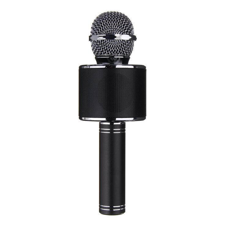 Universal Wireless Bluetooth Karaoke Microphone Speaker Handheld Mic USB Player for iPhone Samsung Sale - Banggood.com