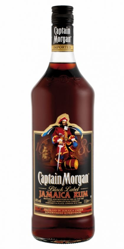 Captain Morgan - Jamaica Black