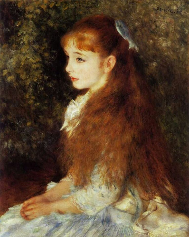 Auguste Renoir La petite Irène Slg. Emil Georg Bührle, Zürich