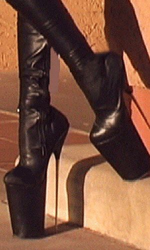 Those heels look like they will break at any moment now.