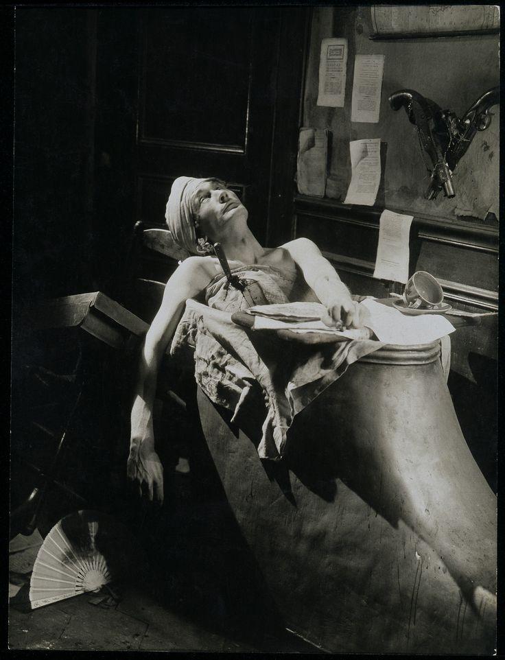 Antonin Artaud as Marat in Napoléon, 1927 - directed by Abel Gance.