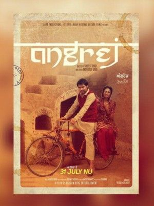An upcoming Punjabi movie Angrej is releasing soon where renowned actors are staring in the movie which include Amrinder Gill, Ammy Virk, Sardar Sohi, Binnu Dhillon & Actress Aditi Sharma. Sardar sohi is playing the role of Aditi Sharma's father. Apart from this, Amrinder Gill can be seen in Turban.