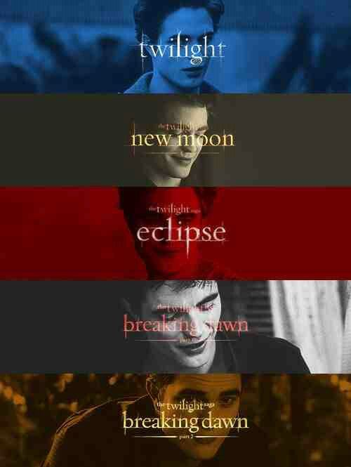 Twilight... This pretty much names all of my ultimate favorite movies