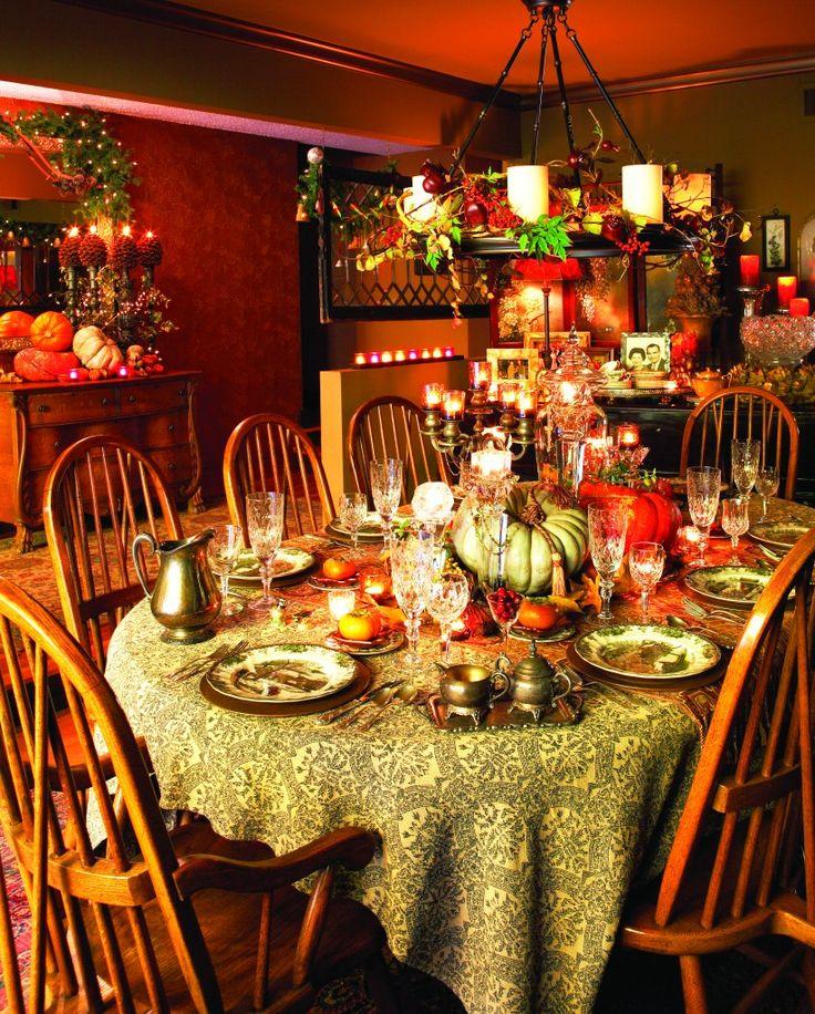 Victorian Era Dining Room: Victorian Thanksgiving