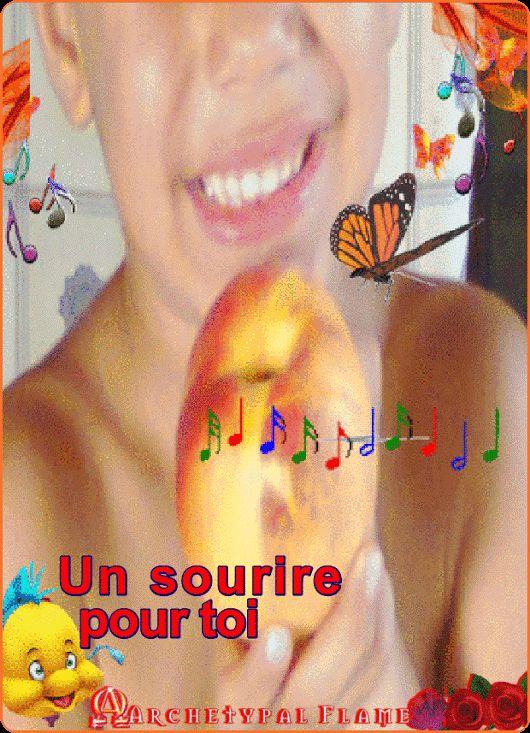 Archetypal Flame - Un sourire pour toi   Α smile. For you!  Χαμόγελο, για σένα!  Una sonrisa Para ti!  Um sorriso! Pra voce!  un sorriso! Per te!  Een glimlach! Voor jou!  Ein Lächeln! Für dich!  Одна улыбка! для тебя!  jedan osmijeh! za tebe!  あなたのために (for you)      #Χαμογέλα, #flame, #GIFS, #glimlach, #lächeln, #Osmijeh, #smile, #sonríe, #sorria, #sorridi, #Souriez, #пожалуйста, #スマイル #Archetypal, #flame, #beauty, #health, #inspiration,#gif, agape ke fos #2561000 sep1s