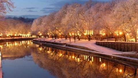 Aurajoki Turku Finland