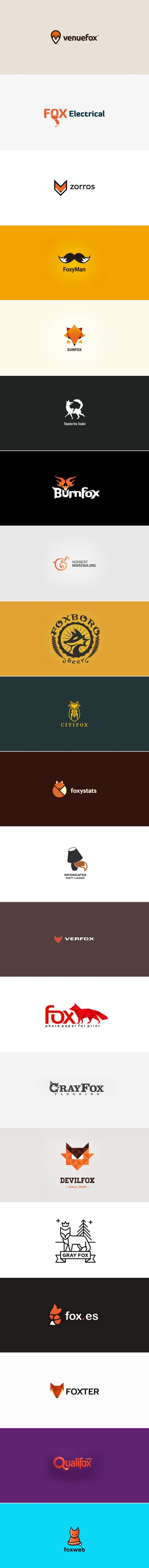 29 Fox Logo Design Examples for Inspiration
