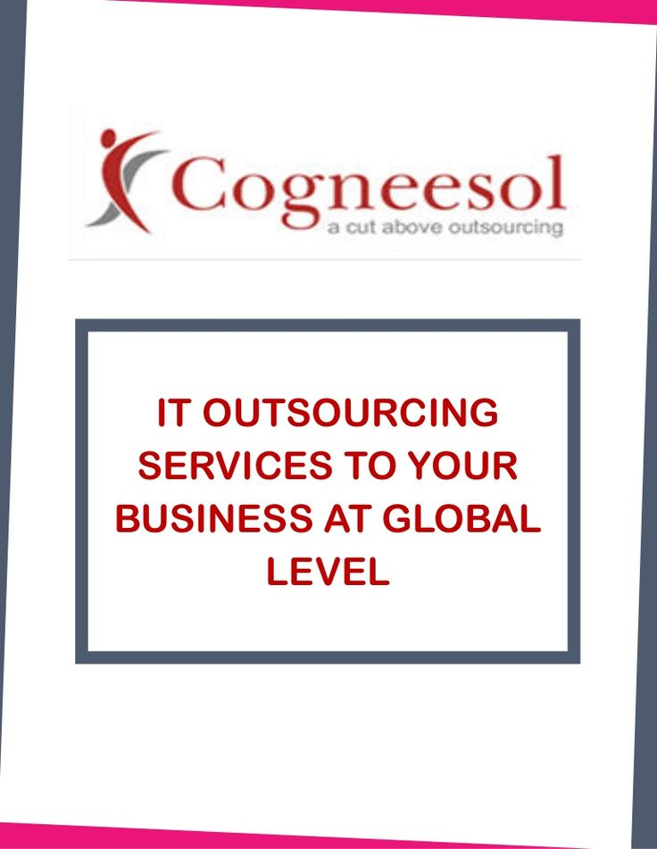 IT OUTSOURCING SERVICES TO YOUR BUSINESS AT GLOBAL LEVEL  WHAT IS IT OUTSOURCING SERVICES  IT outsourcing is a phrase used to describe the practice of seeking resources - outside of an organizational structure for all or part of an IT (Information Technology) function.