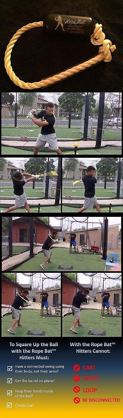 Other Baseball Training Aids 181332: The Rope Bat Hitting System - Finally Get The Perfect Swing Youth 12U -> BUY IT NOW ONLY: $125.85 on eBay!
