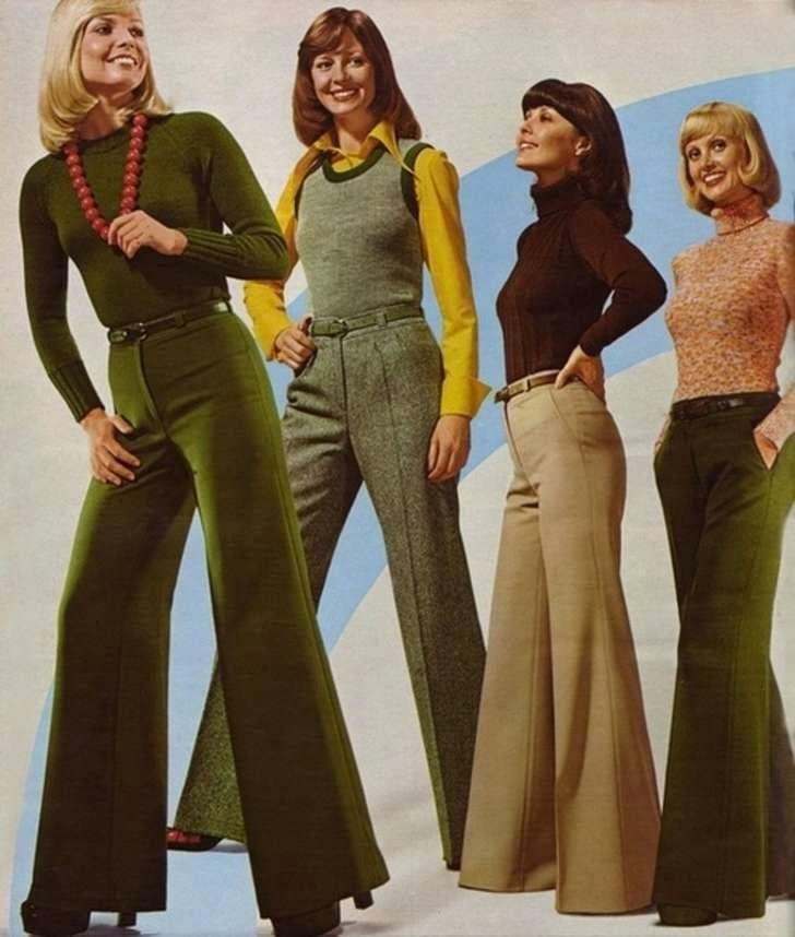vintage everyday: 50 Awesome and Colorful Photoshoots of the 1970s Fashion and Style Trends: