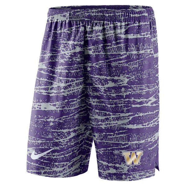 Washington Huskies Nike Shield Performance Shorts - Purple - $49.99
