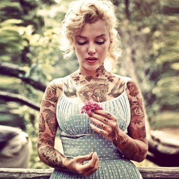 Shopped Tattoos – Tatouages imaginaires et célébrités