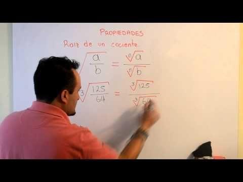 Propiedades de la Radicación | Clases Gratis de Matemáticas - YouTube