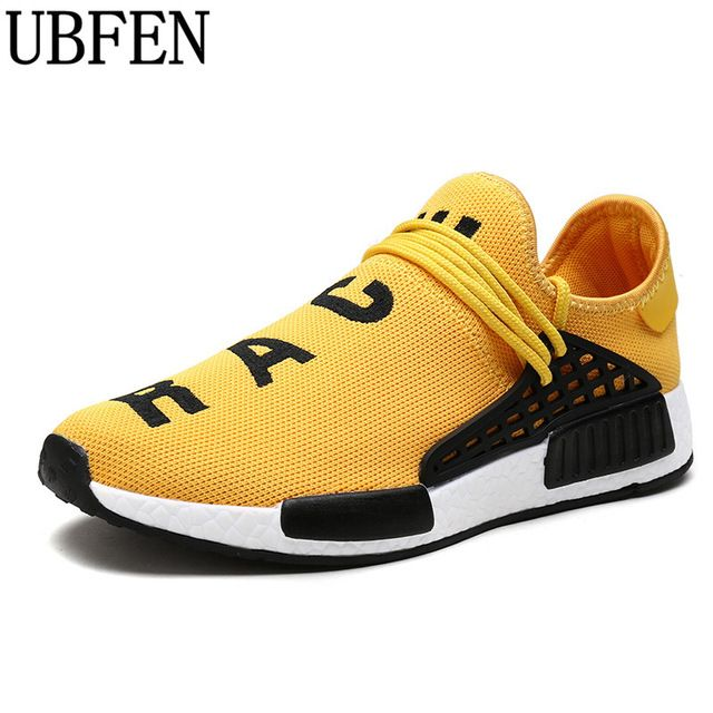 Special price UBFEN 2017 Fashion Men Casual Shoes Lightweight Breathable Unisex Lovers Trainers Flat Canvas Shoes Human Race Male Shoes  just only $15.89 - 19.89 with free shipping worldwide  #menshoes Plese click on picture to see our special price for you