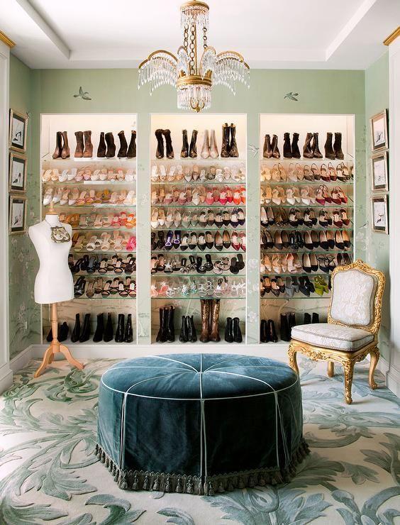 Jenny Tamplin Interiors | College Station, Texas | Cute Closets