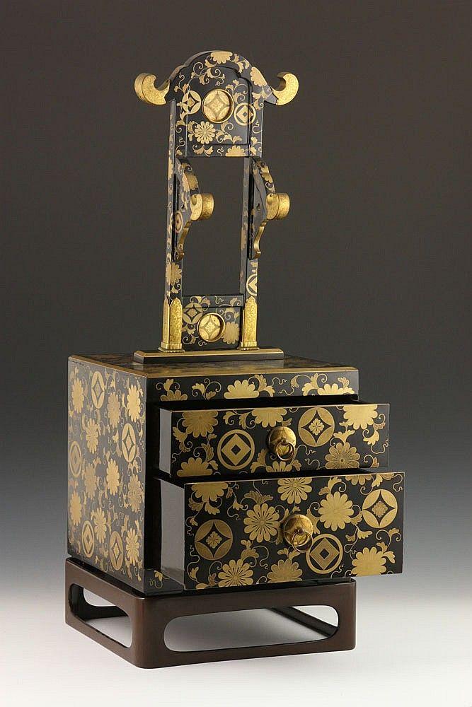 19th C. Brideu0027s Vanity Case   By Kaminski Auctions