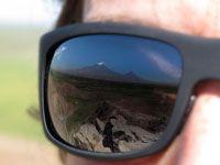 Foto di viaggio di Giuseppe Pompili,  Mio omonimo, uno dei più grandi scalatori. Qui in Armenia Monte Ararat
