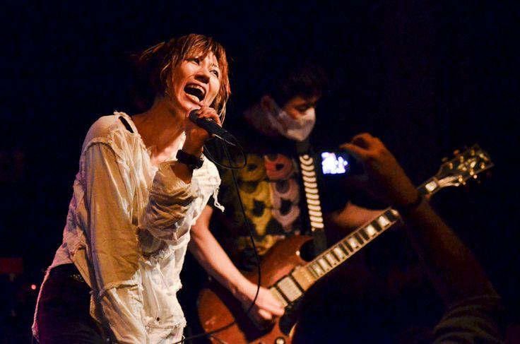 111001.jm. melt banana band metal hardcore punk eugene wow hall yako agata