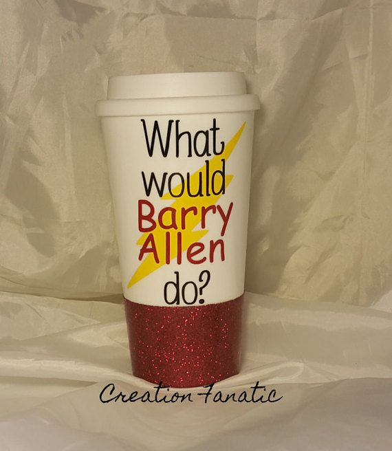 The Flash Mug / What would Barry Allen do / TV by CreationFanatic