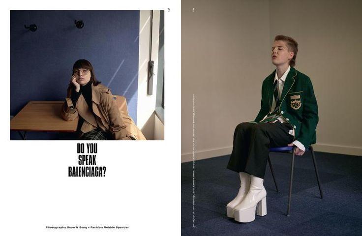 Dazed Magazine - Do you speak Balenciaga?