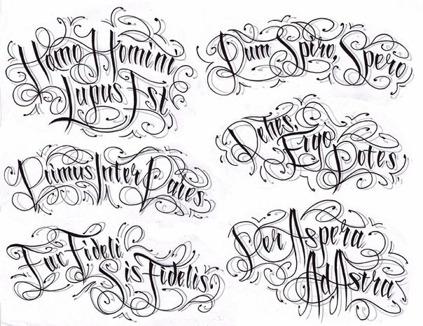 шрифты для тату онлайн подбор: 13 тыс изображений найдено в Яндекс.Картинках