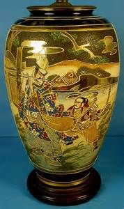 japanese antiques porcelain lamp - Yahoo Image Search Results