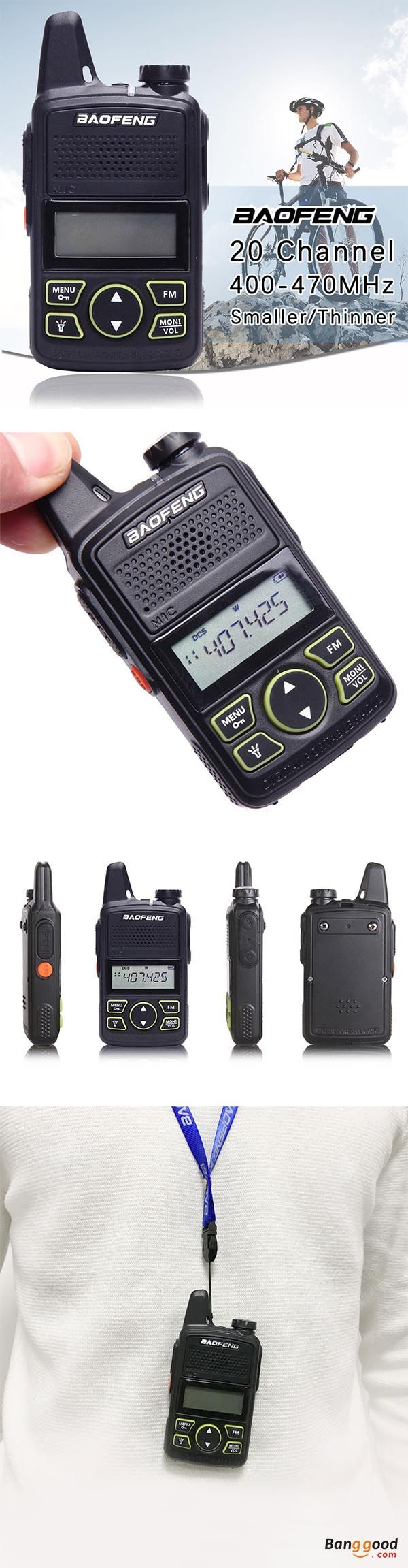 1049 Best Gadgets Images On Pinterest Product Design Products And Simple Intercom Using Tree Transistors Baofeng Bf T1 Frequency 400 470mhz 20 Channels Mini Ultra Thin Driving Hotel Civilian Walkie Talkie