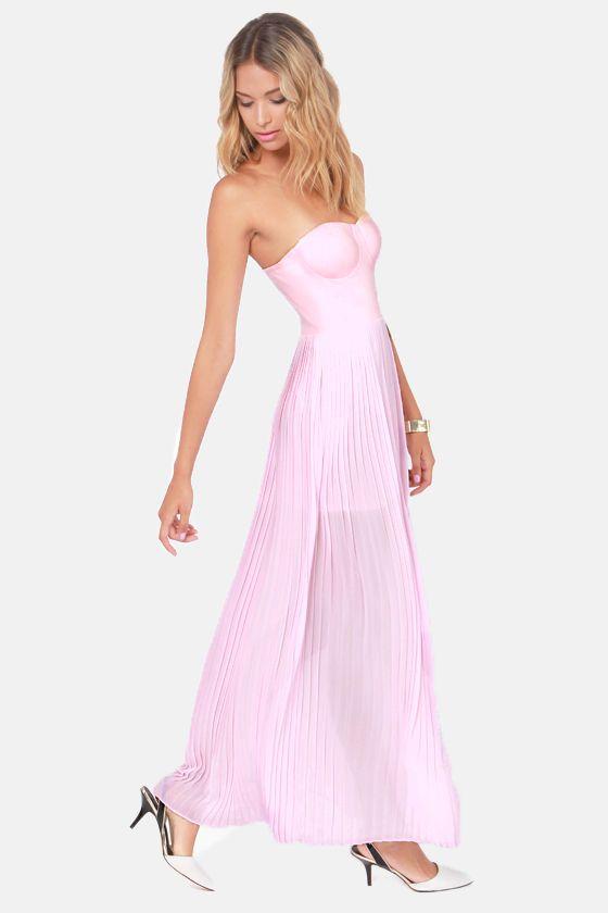 17 best ideas about Pink Maxi on Pinterest | Chiffon skirt, Maxi ...