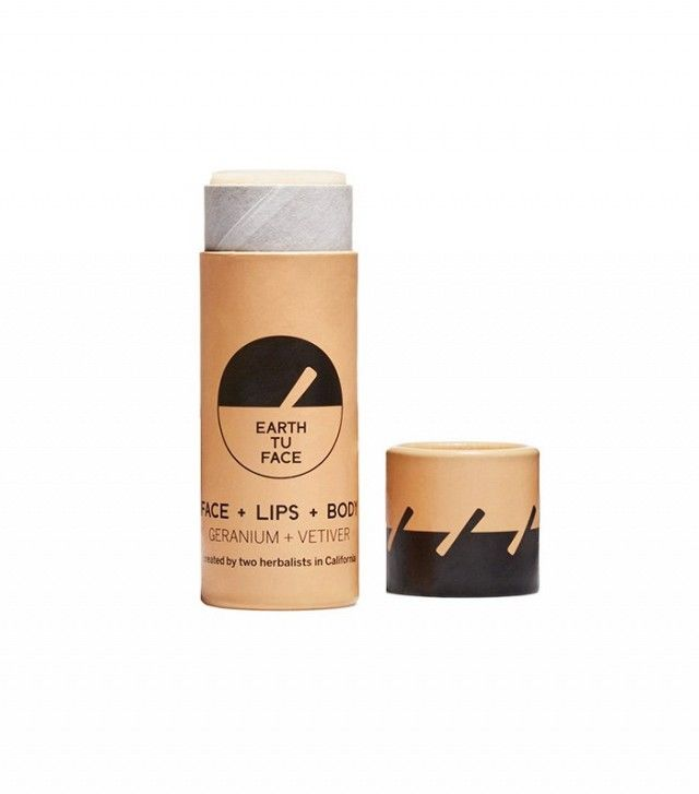 The Beginner's Guide to Natural and Organic Beauty Brands | Byrdie. Earth Tu Face Skin Stick ($34)