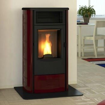 The Sveva | Piazzetta | Wood Pellet Stoves are an instant classic. These Pellet Stoves for Sale can be tailored to your style with your choice of color.