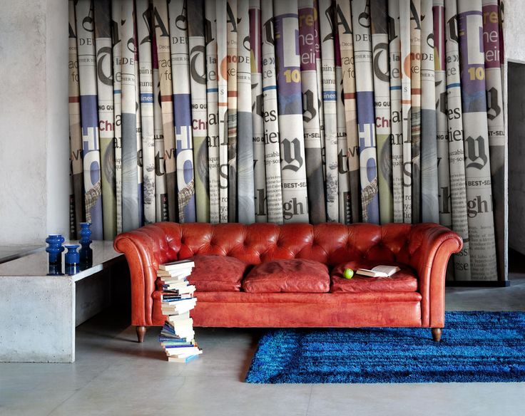 Newspaper wallpaper I Daily News - Read all about it | Mr Perswall UK