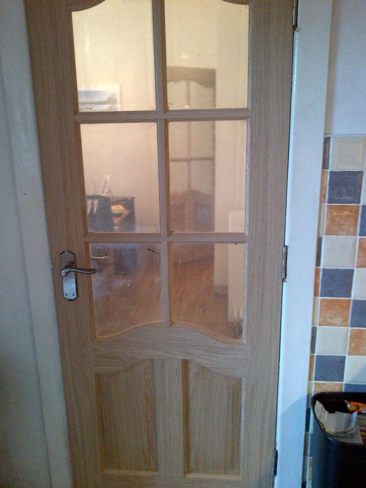 New door into dining room
