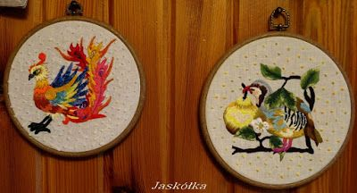 Z kolekcji : Ptaki różnorodne. Phoenix i ptak -amator gruszek