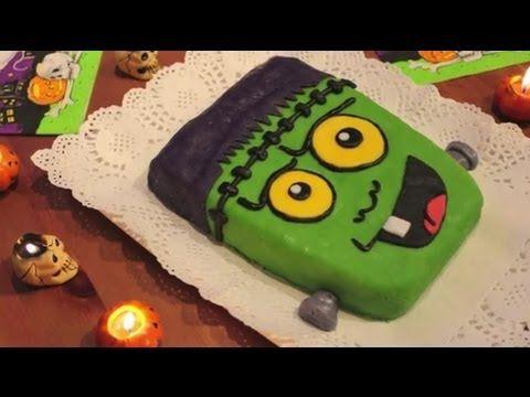 Recetas para Halloween - Tarta Monstruo de Frankenstein