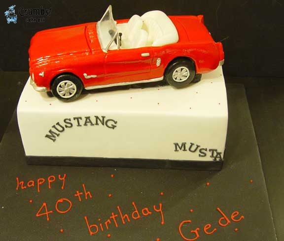 Best Convertible Car Cakes Images On Pinterest Car Cakes