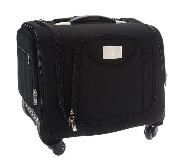 Weekender Bag with Snap-In Toiletry Case by Lori Greiner — QVC.com