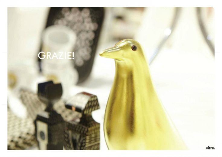 Eames House Gold Bird - limited edition